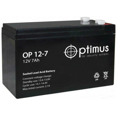 Аккумулятор Optimus 12-7