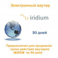 Карта оплаты Iridium 30 дней